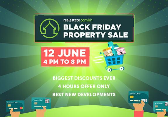 Realestate.com.kh Black Friday Property Sale