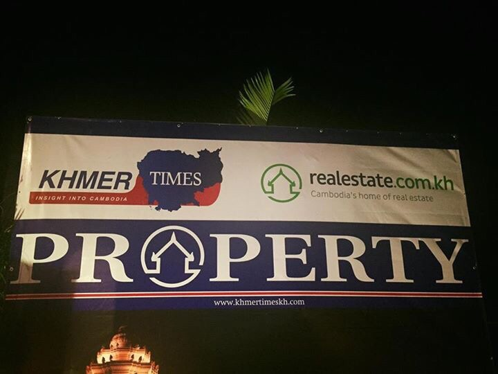 Realestate.com.kh Partners with The Khmer Times